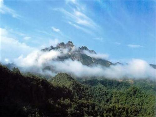 五凤山森林公园,位于简阳市望水乡老鹰水库
