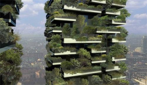 自垂直森林14年竣工,它就成了.